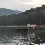 Ponton lacul Valiug