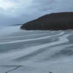 Lacul Valiug iarna
