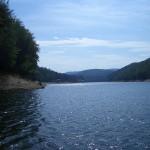 Lacul Valiug, vara